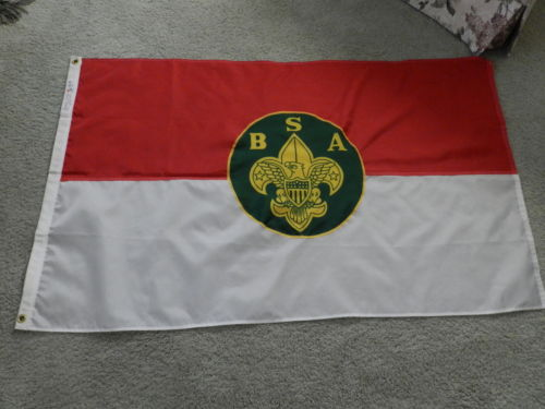 blank Boy Scout Troop flag