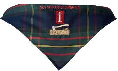 Wood Badge learner's neckerchief
