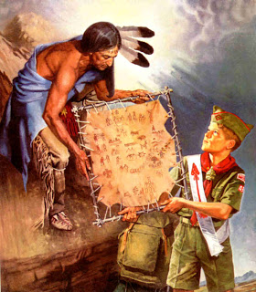 Image of Scout painting called
