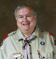 Wearing the Wood Badge (non-unit Scouter)