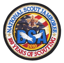 Official National Scout Jamboree emblem