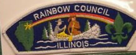 Rainbow Council Shoulder Patch insignia