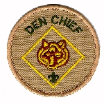Den Chief badge  of office (worn by both Cub Scout and WEBELOS Cub Scout Den Chiefs)