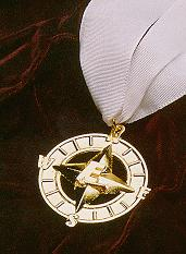 the Explorer GOLD Award medallion