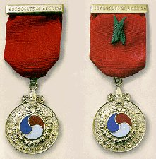 Honor Medal and Honor Medal with Crossed Palms