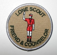 NEW Lone Scout Friend and Counselor emblem