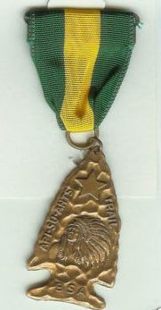 example of trail medal