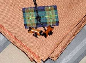 Wood Badge beads and neckerchief