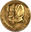 The medallion for the Young American Award