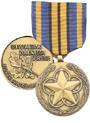 Image of both sides of the MOVSM medal