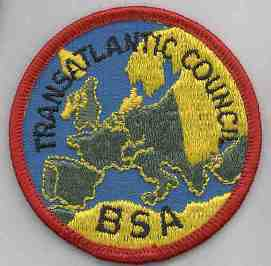 Transatlantic Cncl Germany 2010 Scouters Annual Conference Pocket Patch  BSA